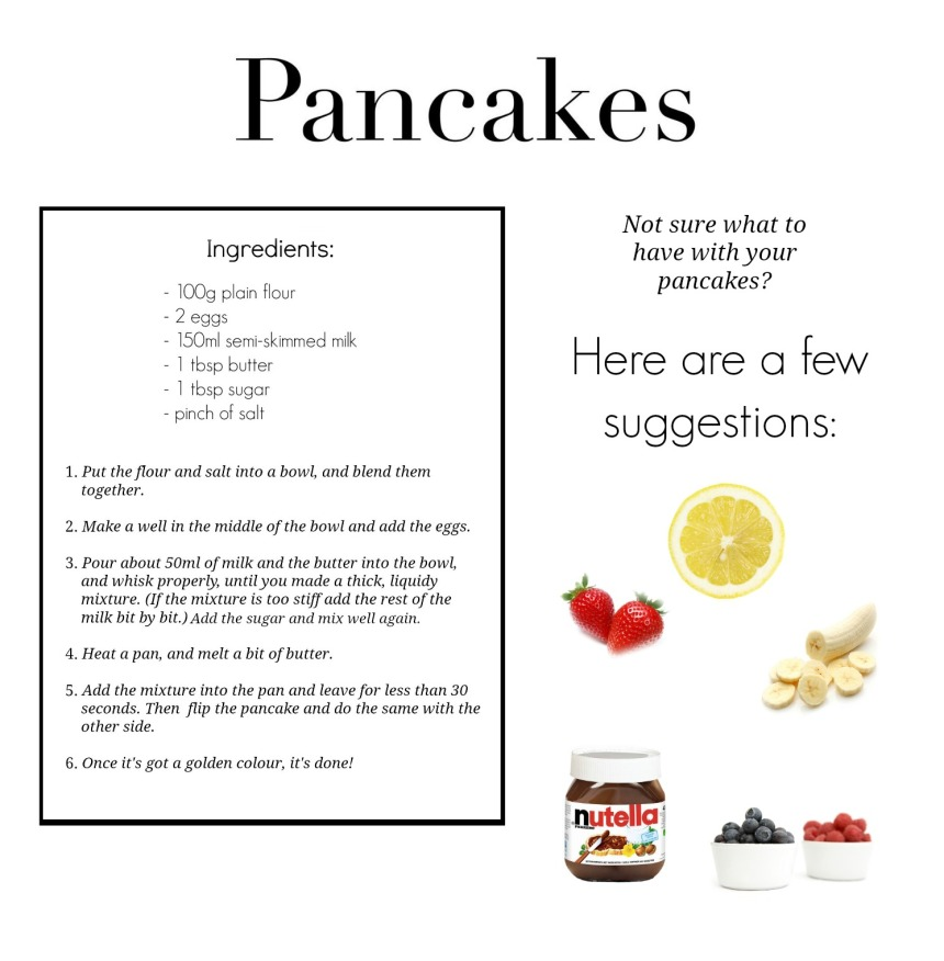 Pancakes - Recipe - Food - www.rockpaperwhisk.com
