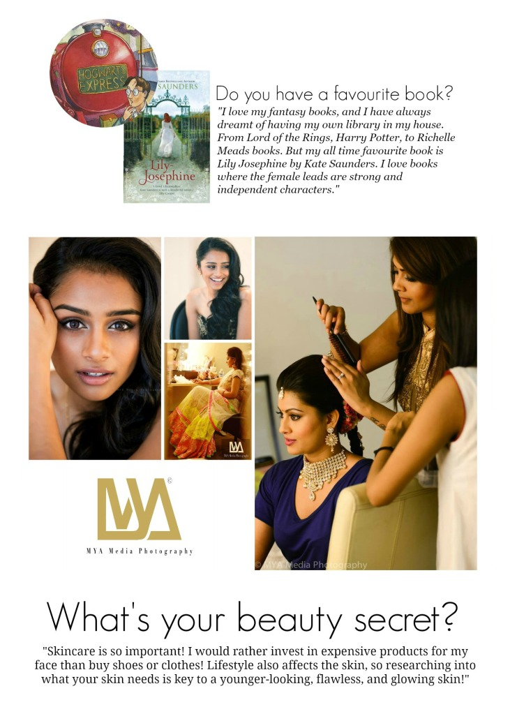 Say hi to Vithya - Vithya Hair and Make Up Artist - MYA Media Photography - Sneha - Pragathi - www.rockpaperwhisk.com