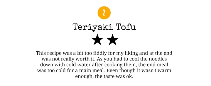 Gousto Review - Teriyaki Tofu - www.rockpaperwhisk.com